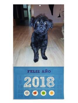 Calendario faldilla mensual