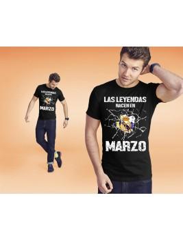 Camiseta leyendas madrid