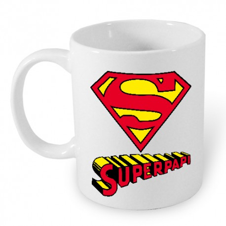 Taza Superpapi