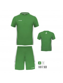 Equipacion New One Verde Blanco