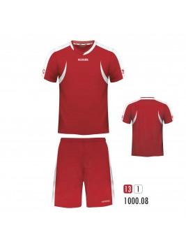 Equipacion Batuka Rojo Balnco