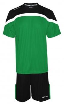 Verde-Blanco-Negro/Negro