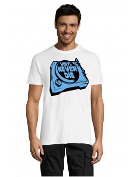 Camiseta Vinyl Never Die