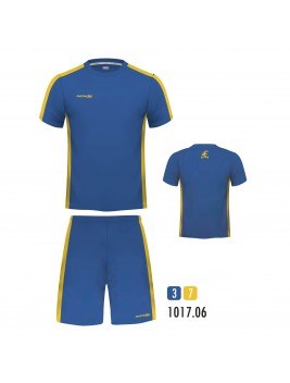 Equipacion New One Royal Blanco