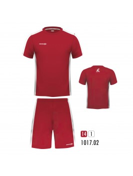 Equipacion New One Rojo Blanco