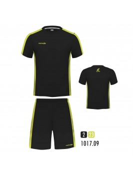 Equipacion New One Negro Amarillo Fluor
