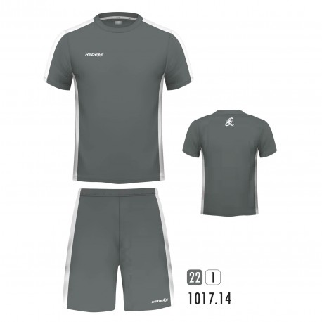Equipacion New One Gris Blanco