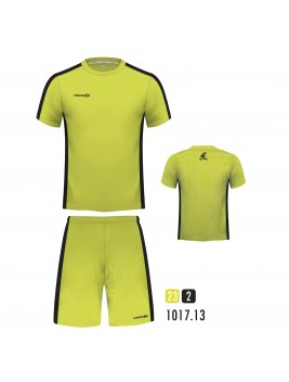 Equipacion New One Amarillo Fluor Negro