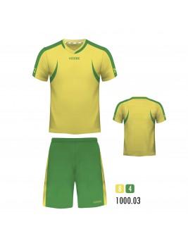 Equipacion Batuka Amarillo Verde