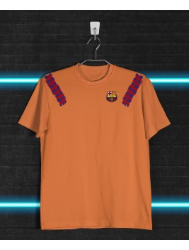 Camiseta Retro Barcelona Orange