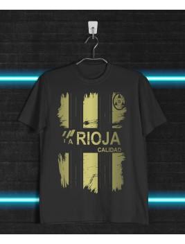 Camiseta Retro Golden Logroño