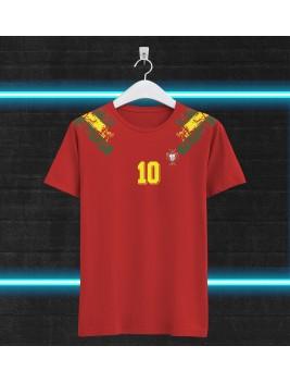 Camiseta Retro Portugal Tributo Futre