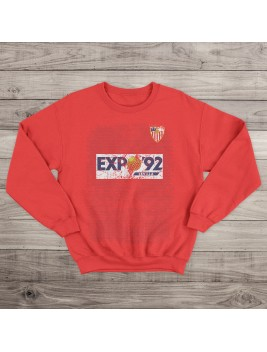 Sudadera Retro Hispalis 87 Red