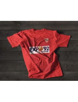 Camiseta Retro Hispalis 87 Red