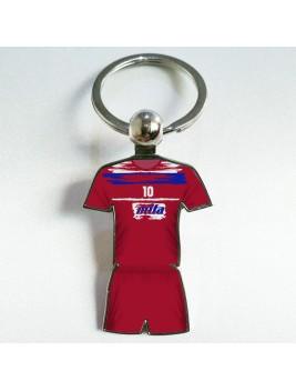 Llavero Retro Futbol Neptuno Red