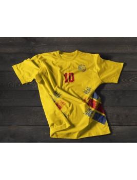 Camiseta Retro Rumania 94 Tributo Hagi
