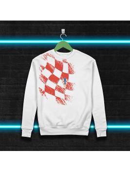 Sudadera Retro Croacia 98