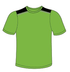 Verde Flúor/Negro